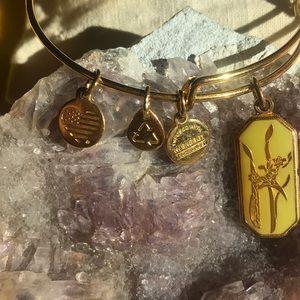 Alex and Ani Jewelry - Alex and Ani Authentic Gladiolus Bracelet